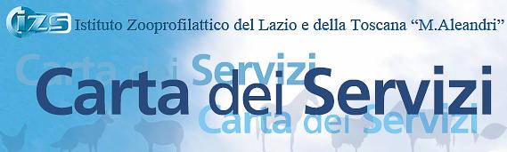 Carta dei Servizi IZSLT