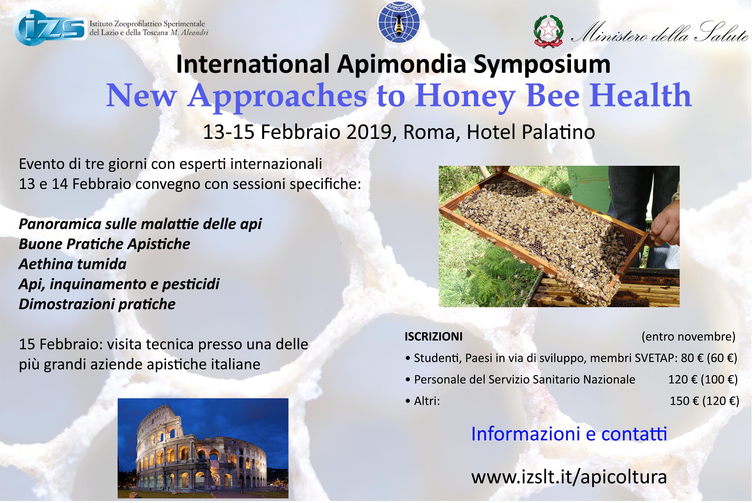 Locandina honey bee health