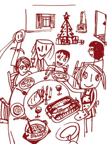 Pranzo a Natale